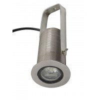 LED Ground Burial Stainless Steel Clamp 1 Watt 12V Warm White ( without Power Supply)``