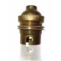 "4/8"" B22 Brass Holder Pack of Five"