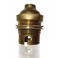 "3/8"" B22 Brass Holder Pack of Five"