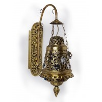 Antique Finish Moroccan Brass Wall Light