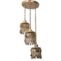 Treasure Keys Set of 3 Hanging Lights