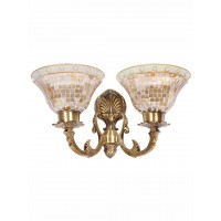 Meenakshi Golden Katora Double Wall Light