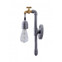 Classic Grey Tap Wall Sconce Light