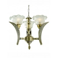 Leaf 3 Light Compact Chandelier