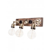 Retro Switch Triple Vanity Light