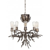 Fairy Light Antique Gold 8 Light Tree Chandelier