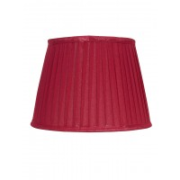 Round TaperPleates shade Colour Maroon