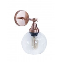 Contemporary Copper Boro Spot Wall Sconce