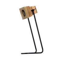 Urban Wooden Block Desk Lamp
