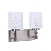 Openwork Porcelain Double Wall Sconce