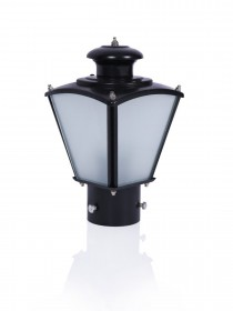 Classic Black Small Outdoor Gate Light