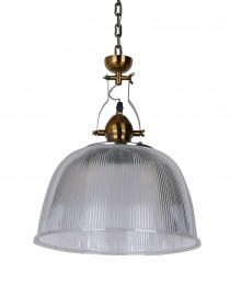 Prismatic Dome 12 Inch Industrial Pendant Light