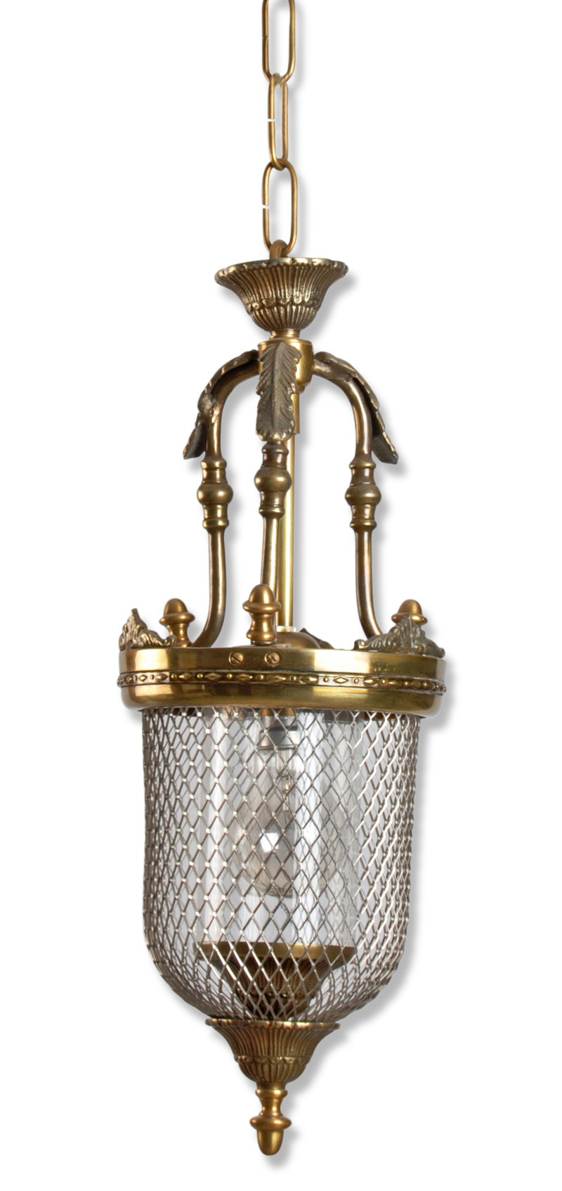 Lattice Portuguese Small Jar Pendant Light