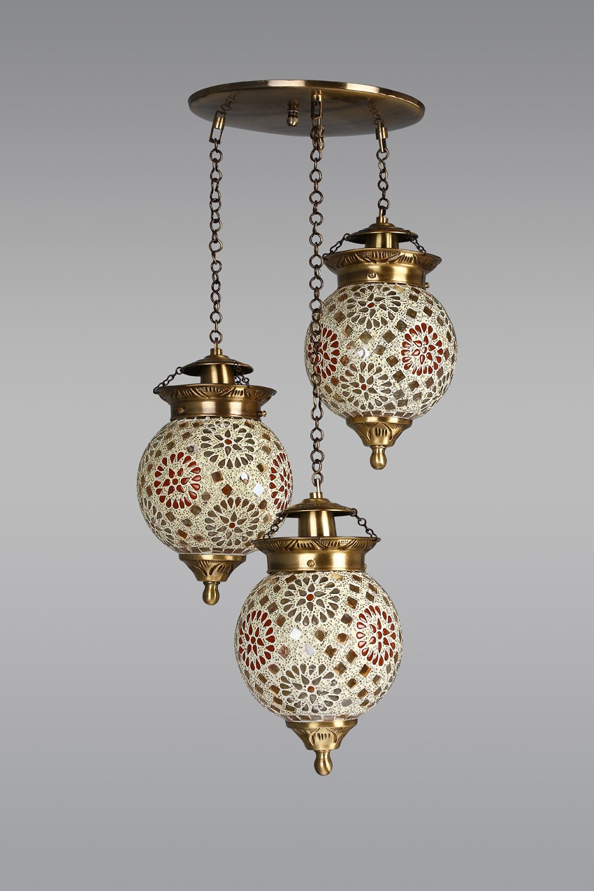 Chandni Tilak Set of 3 Hanging Lights