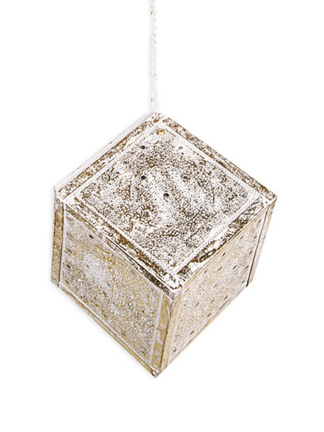 Lattice Cube Pendant Light