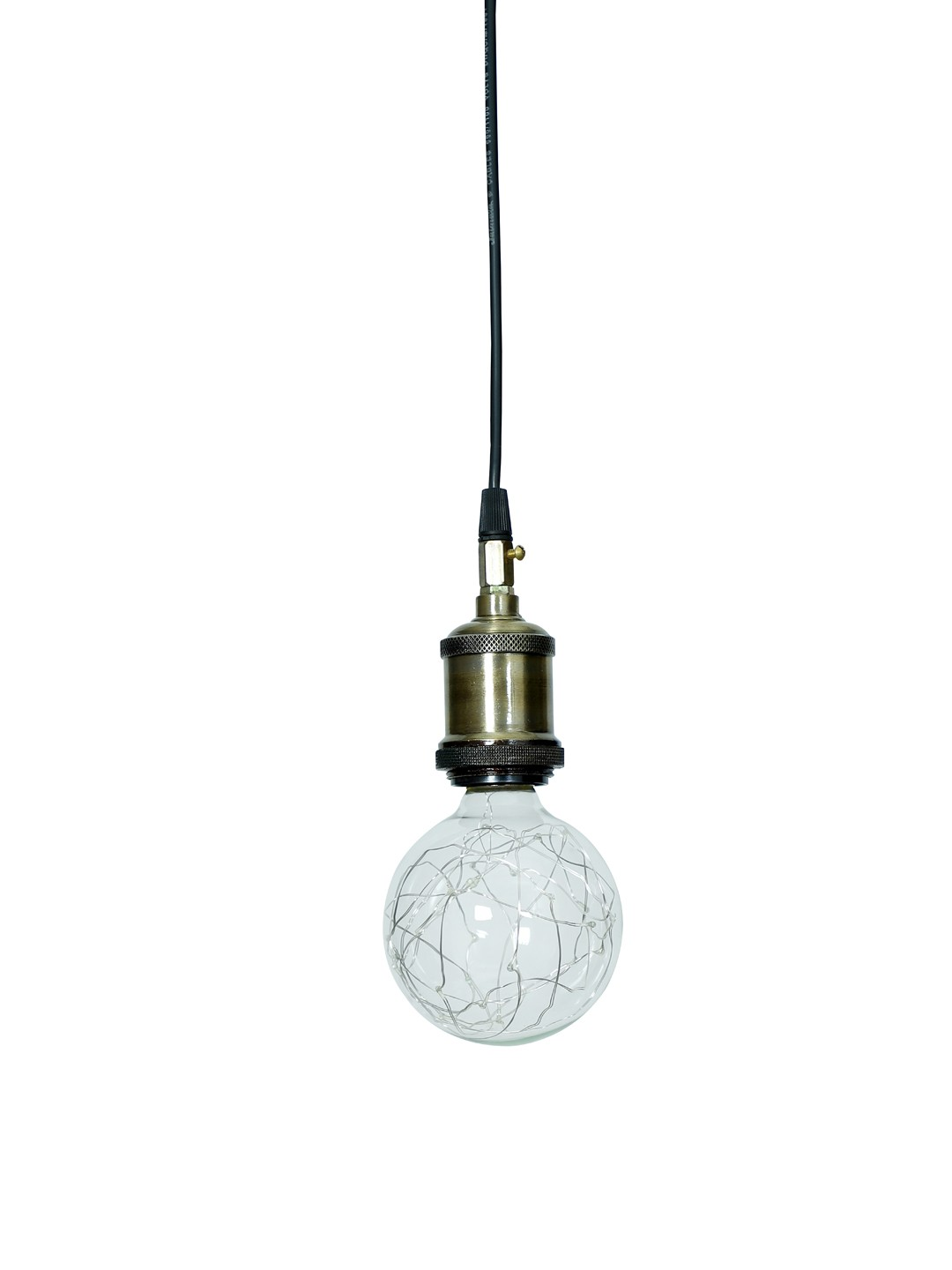 Edison Hanging with Red LED Fairy Globe E27 Bulb