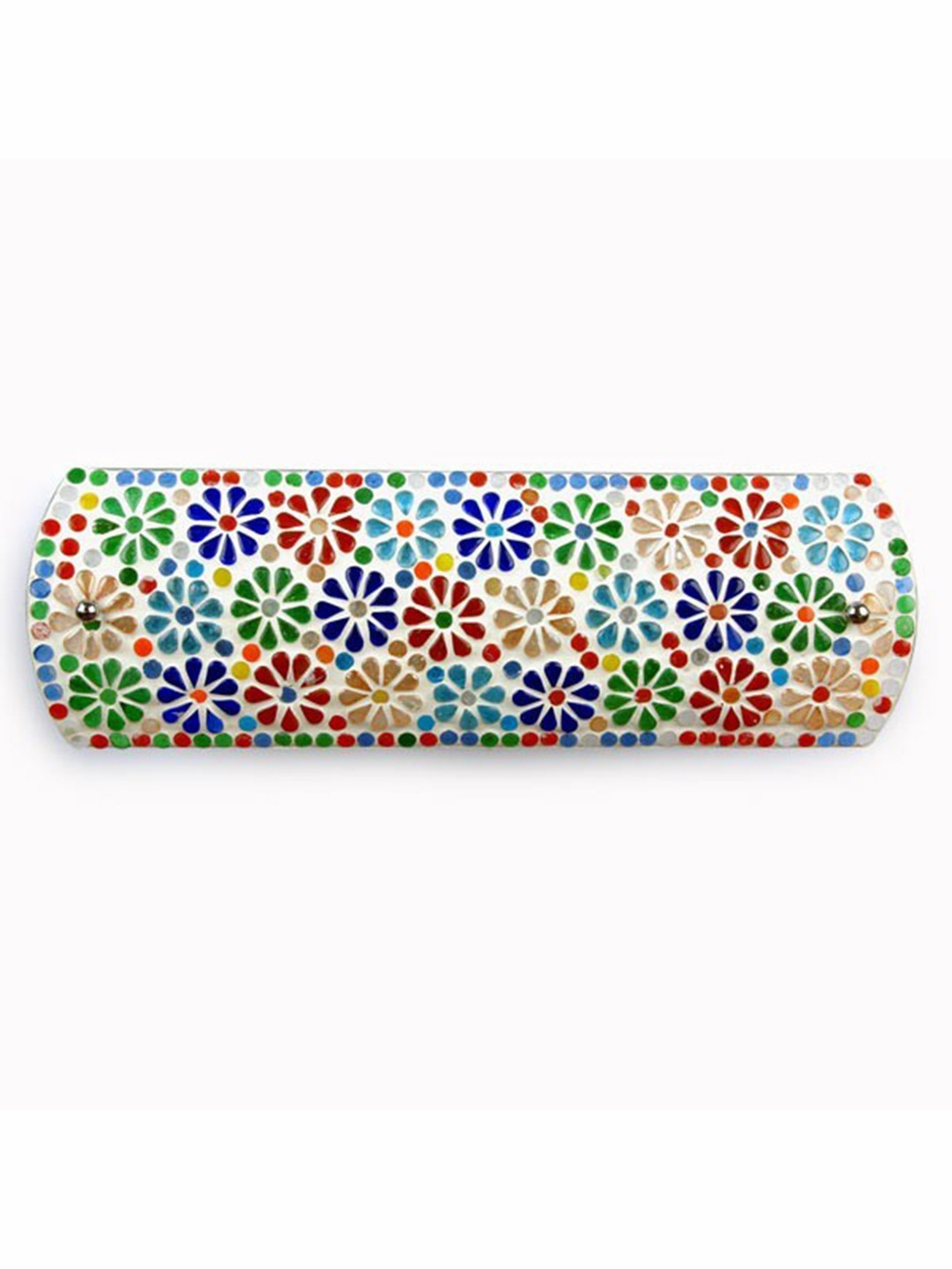 Tukri Multicolored Flowers Double Wall Light