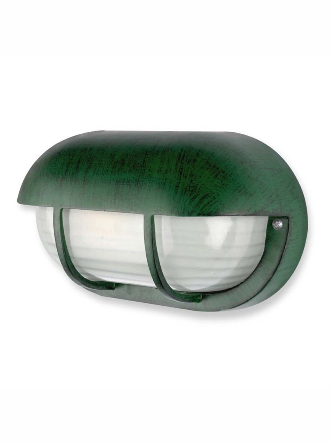 Antique Green Outdoor Bulkhead Light