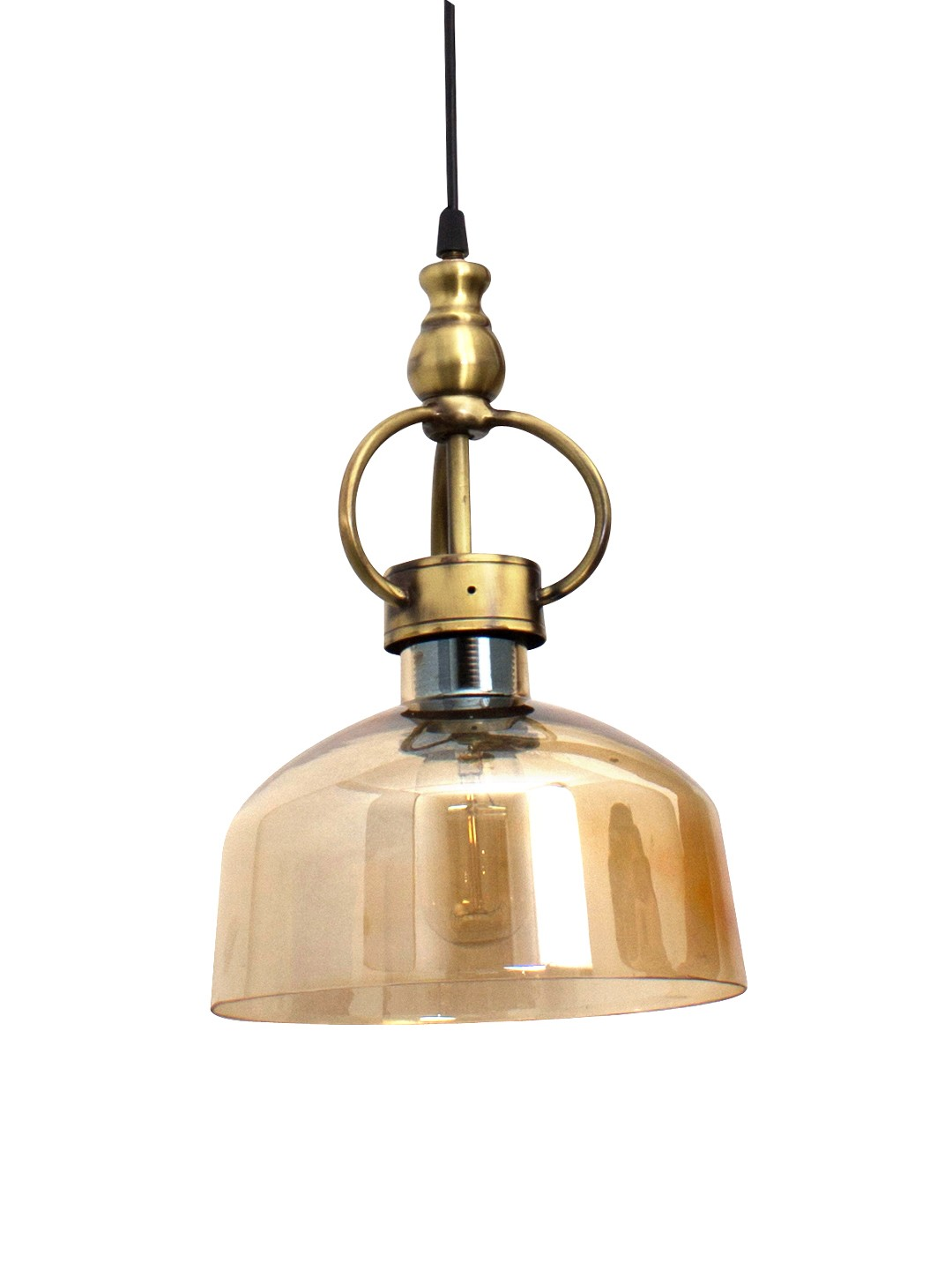 Gem Golden Glass Pendant Lamp