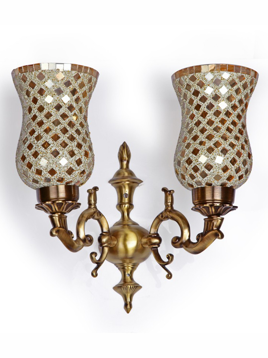 Baja Golden Royal Double Wall Light