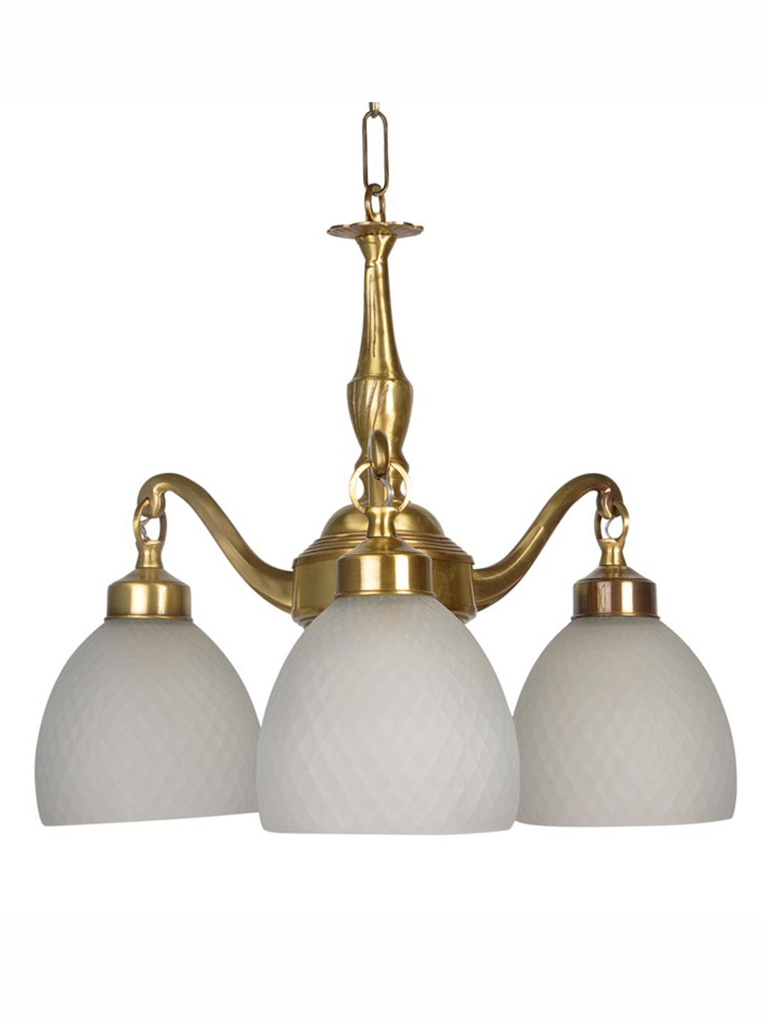 Brass Casted Downward Chandelier