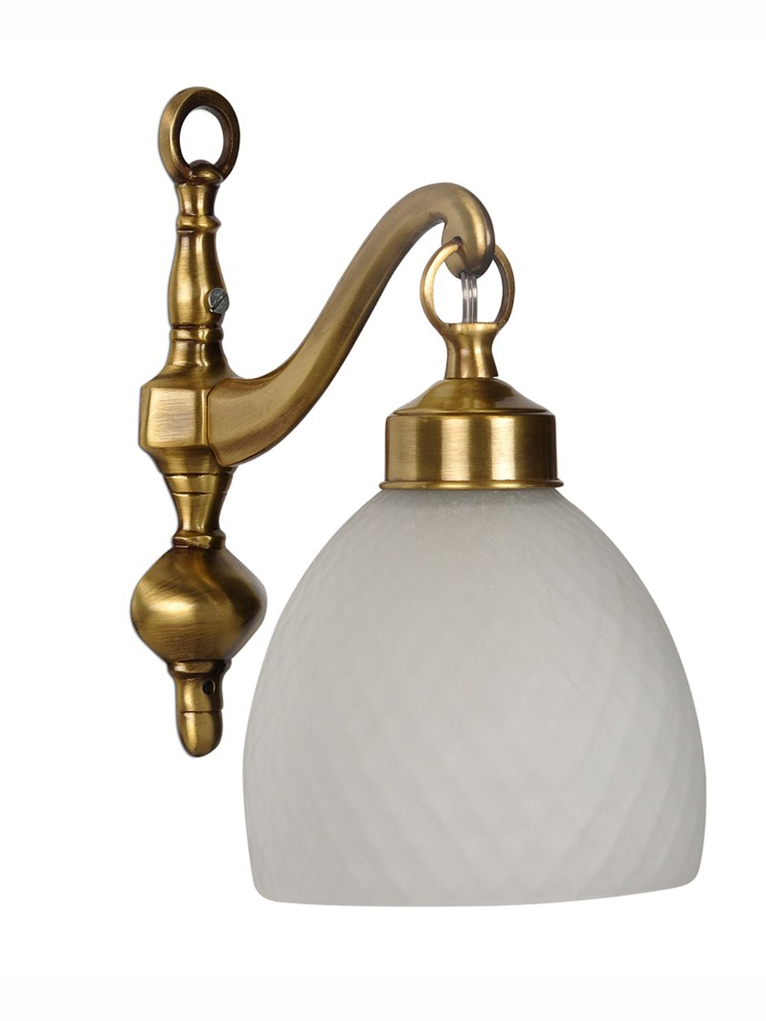 Brass Cast Downward Wall light