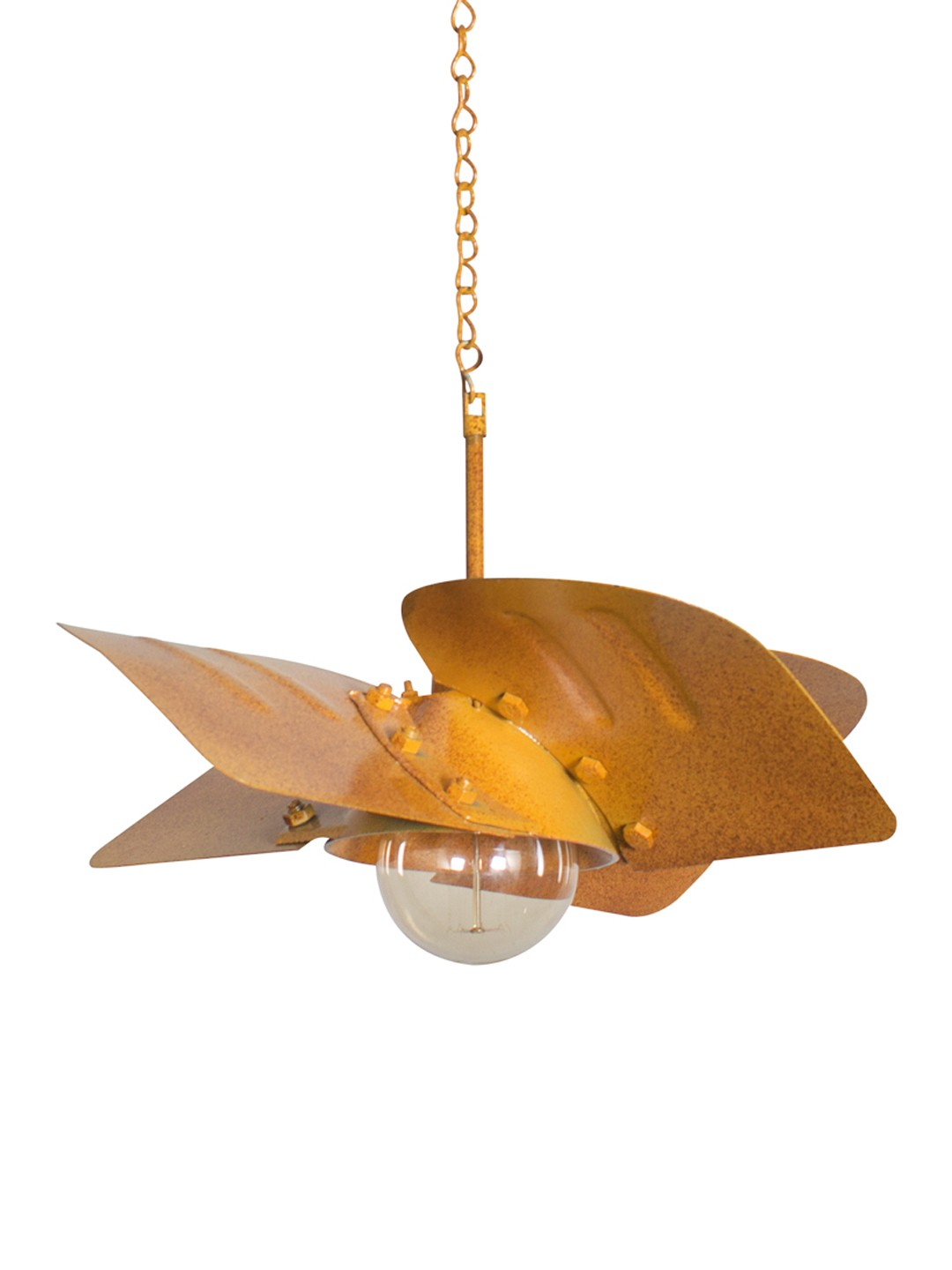 Industrial Turbine Fan Hanging Light