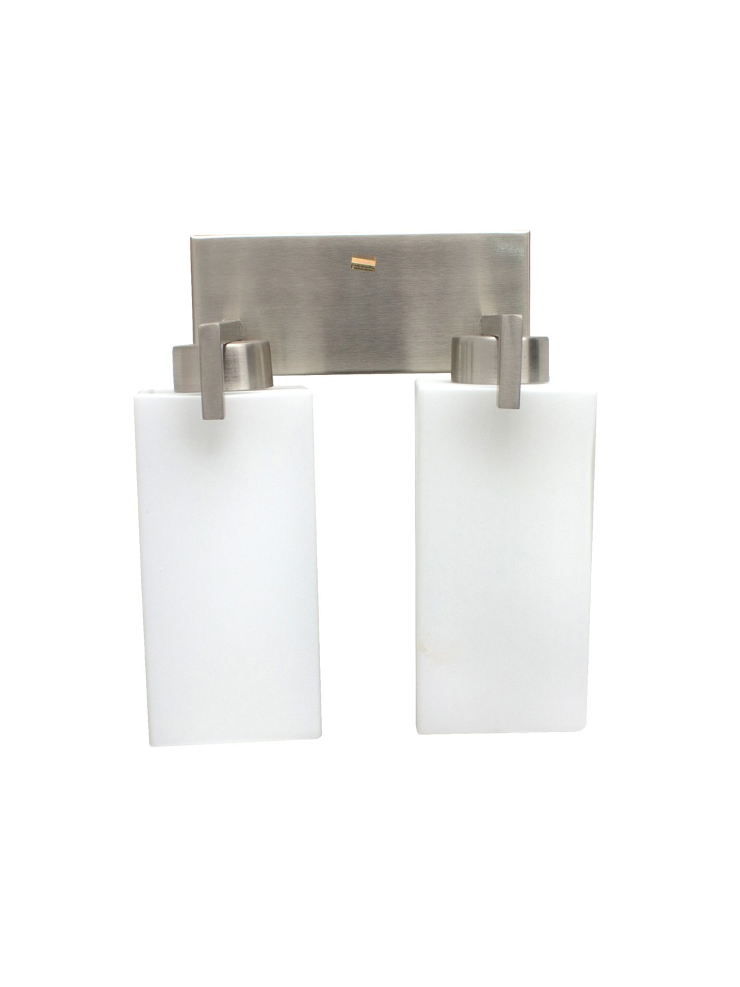Clean Modern Cuboid Double Wall Light